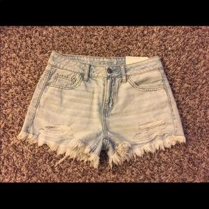 Women's American Eagle Denim Distressed Shorts
